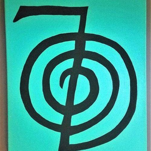 Reiki Power Symbol Painting