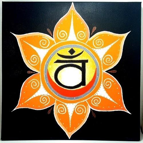 Sacral Chakra Symbol painting Chakra Test