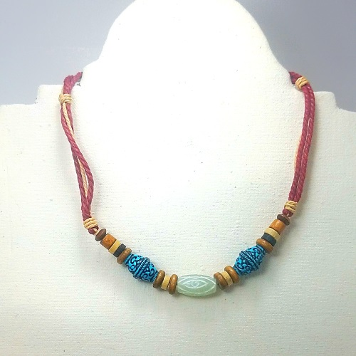 third eye hemp necklace